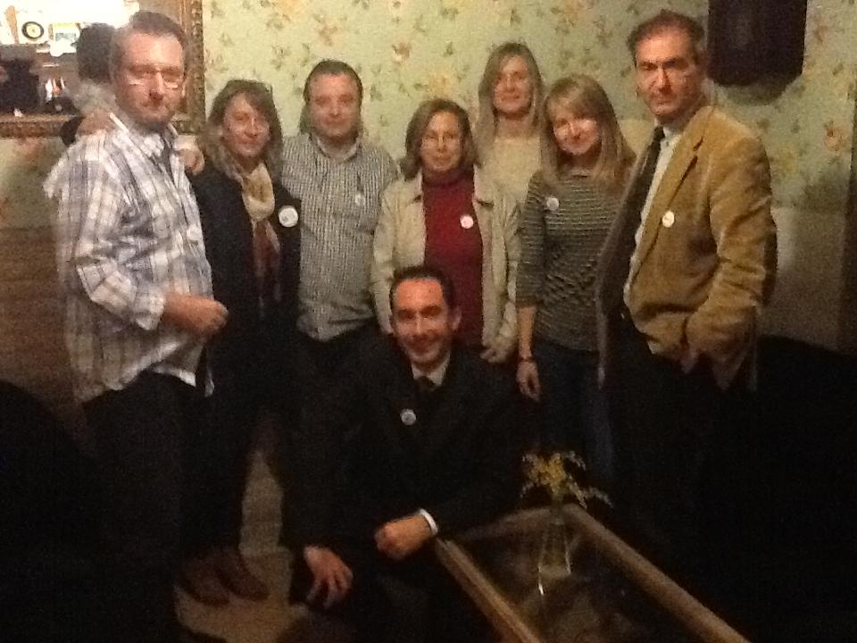 Participantes en la conspiración.